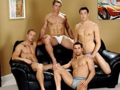 College Jock Orgy from Next Door Buddies
