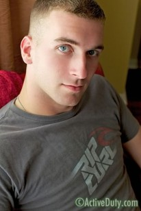 Amateur Hunk Justin from Active Duty