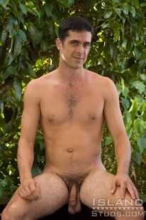Amateur Hunk Jared from Island Studs