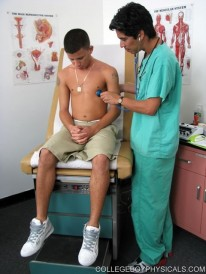 Anthonys Physical Exam from College Boy Physicals
