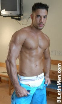 Hunky Luis from Bi Latin Men