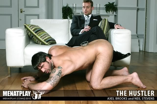Hustler Porn Men At Play - The Hustler from Men At Play ...