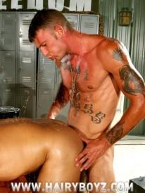 Military Hunks 3way from Hairy Boyz