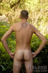 Hung Amateur Cody from Island Studs