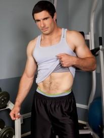 Muscle Hunk Landon from Randy Blue