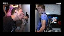 Sucking Off Jordan from Unglory Hole