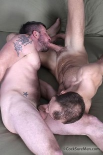 Morgan And Trey Fuck from Cocksure Men