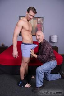 Sucking Beau Flexxx from Jake Cruise