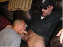 Servicing A Cop from New York Straight Men