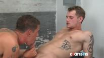 Sebastian Plows Trent from Cocky Boys