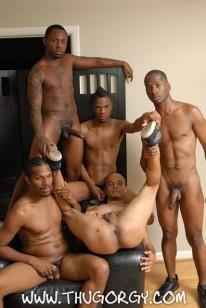 Bareback Thug Orgy from Thug Orgy