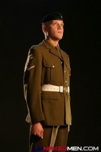 British Soldier Aidan from Uk Naked Men