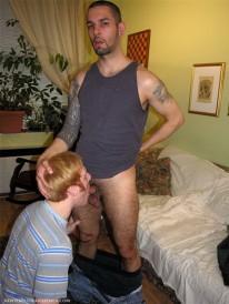 Angelos Blow Job from New York Straight Men