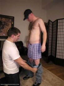 Servicing Seamus from New York Straight Men