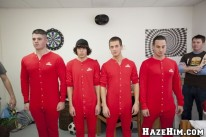 Pledges In Red from Haze Him