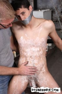Waxing Kenzie Madison from Boynapped