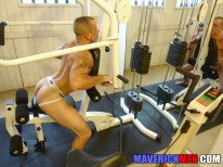 Hot Gym Fun from Maverick Men