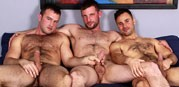 Hairy Hunk 3way from Cocksure Men