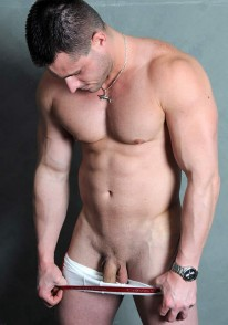 Str8 Hunk Caleb from Straight Fraternity