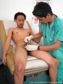 Ramons Anal Exam from College Boy Physicals