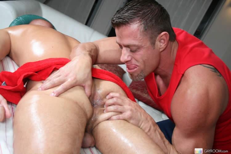 Massage bait gay porn