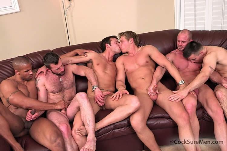 men Orgy for