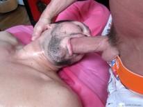 Massaging Danny Lopez from Massage Bait