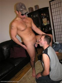 Blowing Vinny from New York Straight Men