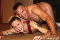 Mugs Wrestles Ryan from Daddy Mugs