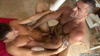 Massage Table Fuck from Rub Him