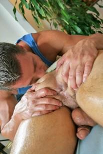 Massaging Jake from Massage Bait