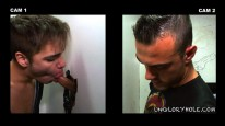 Blowing Aaron Styles from Unglory Hole
