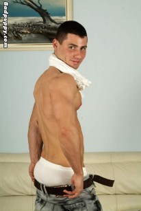 Muscle Hunk David from Bad Puppy