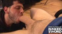 Suckin Gordons Dick from Naked Sword