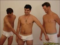 Straight Boy Orgy from Broke Straight Boys