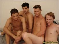 Straight Boy Orgy 2 from Broke Straight Boys