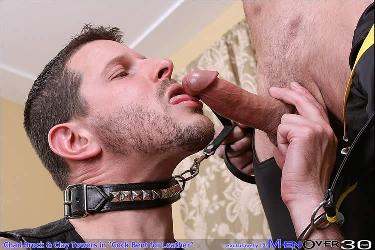 Guys in leather hard sex