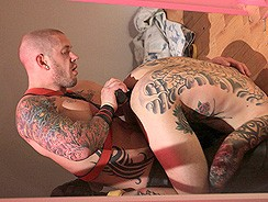 Tattooed Men Fucking from Butch Dixon