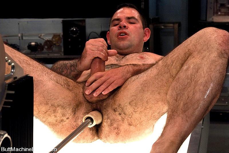 Butt Male machines fucking