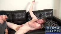 Swallowing Alexander King from Suck Off Guys