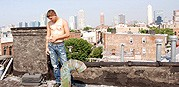 Rooftop Cum Load from Dirty Boy Video