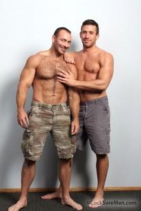 Logan And Brad Kalvo from Cocksure Men