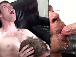 Alexander Big Dick Facial from Suck Off Guys