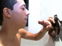 Romero Finds Out from Unglory Hole