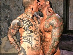 Alexander And Damian from Hairy Boyz