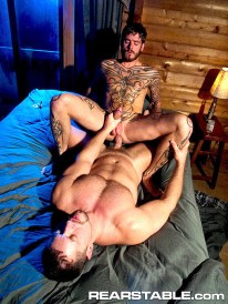 Vinnie And Logan from Raging Stallion