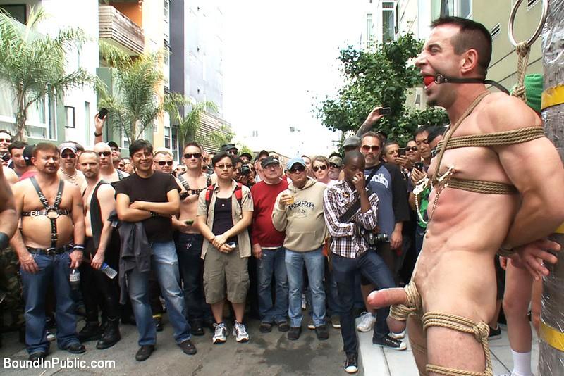male porn public slave