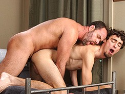 Dodger And Keith from Men Hard At Work