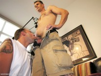 Servicing Brent from New York Straight Men