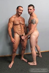 Morgan And Brad from Cocksure Men